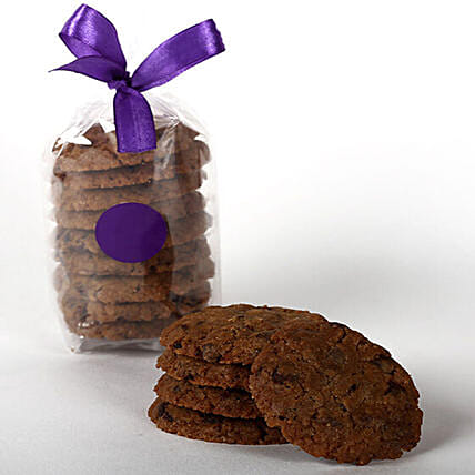 Eggless Chocochip Cookie Tin: Gourmet Gifts India