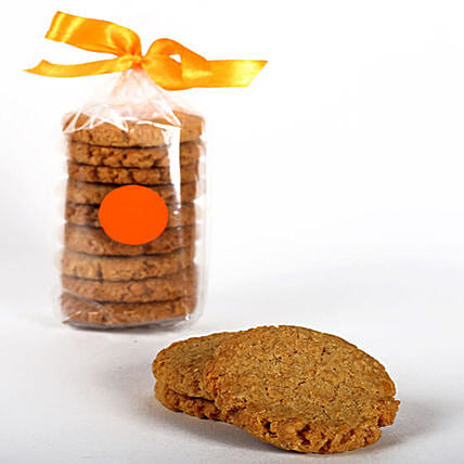 Eggless Coconut & Oat Cookie Tin: Send Gourmet Gifts