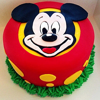 Fabulous Mickey Mouse Cake Birthday Cakes For Kids