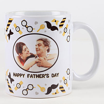 Father's Day Personalised Picture Mug: Fathers Day Personalised Gifts