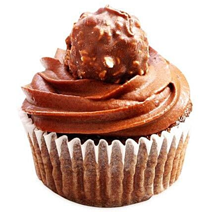 Ferrero Rocher Cupcakes: New Year Gifts
