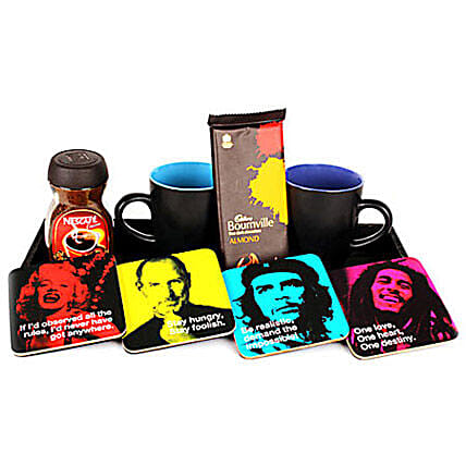 Fun tastic Four Hamper: Coasters