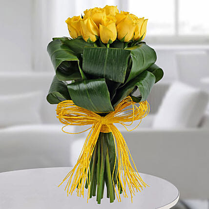Gleams Of Sunshine Bouquet: Designer Bouquet