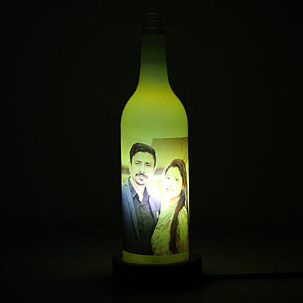 Glow Your Memory Personalized Lamp: Send Gifts to Srinagar