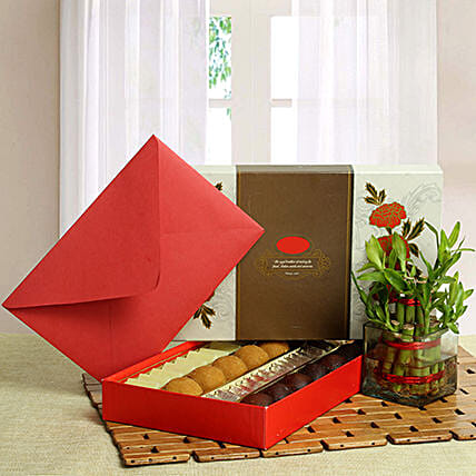 Good Luck with Assorted Sweets: Gift Hampers