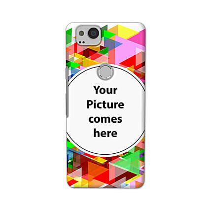 Google Pixel 2 Customised Vibrant Mobile Case: Personalised Google Mobile Covers