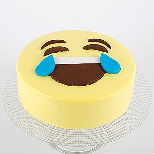 HaHa Emoji Semi Fondant Cake: Send Designer Cakes