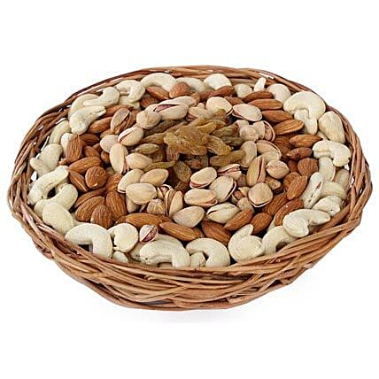 Half kg Dry fruits Basket: Send Gift Baskets