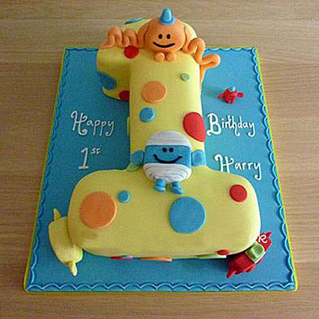 Happy Birthday Toddler Cake