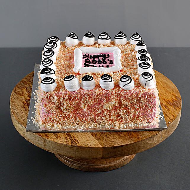 Happy Boss Day Cake: Vanilla Cakes