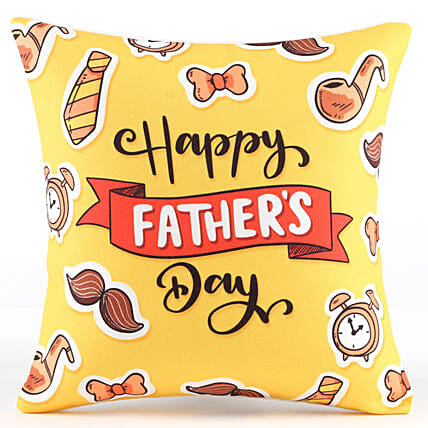 Happy Father's Day Cool Cushion: Fathers Day Gifts From Son