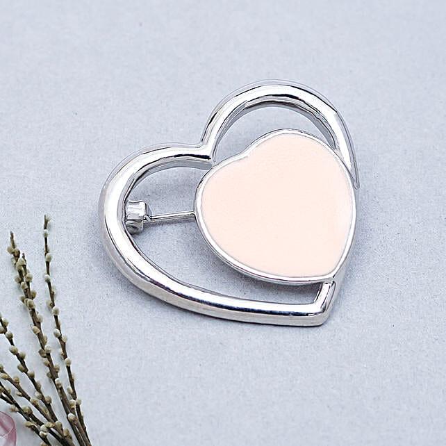 Heart Brooch: Jewellery Gifts