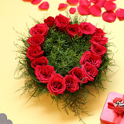 Heart Shape Roses: Heart Shaped Gifts