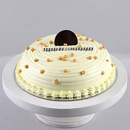 Heavenly Butterscotch Cream Cake: Gifts For Friendship Day