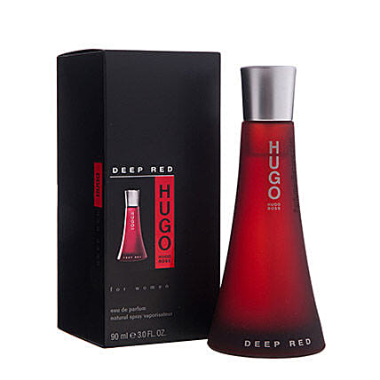 Hugo Deep Red For Women: Gifts to India
