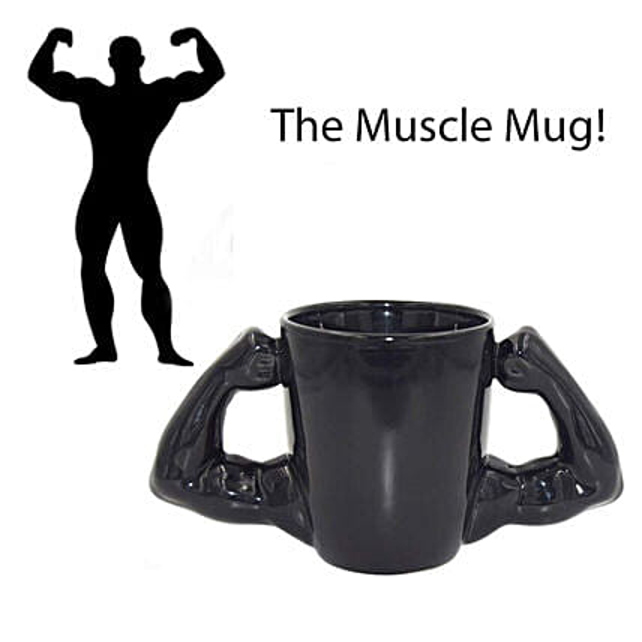Hulk Muscles Coffee Mug: Unusual Gifts