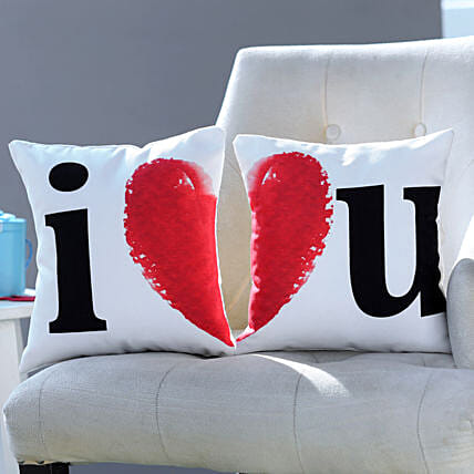 I Love You Cushion Set Gifts For Girlfriend