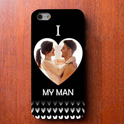 I Love My Man Personalized iPhone Cover: Mobile Accessories