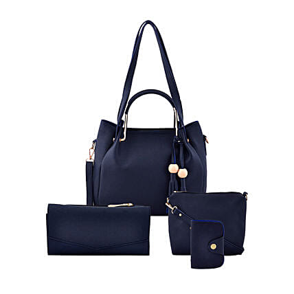 LaFille Blue Bag Set: Handbag Gifts