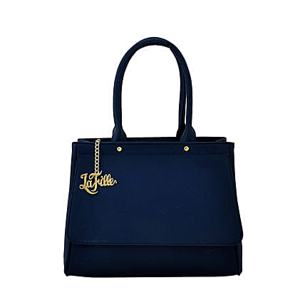 LaFille Blue Hand-Held Bag: Handbag Gifts