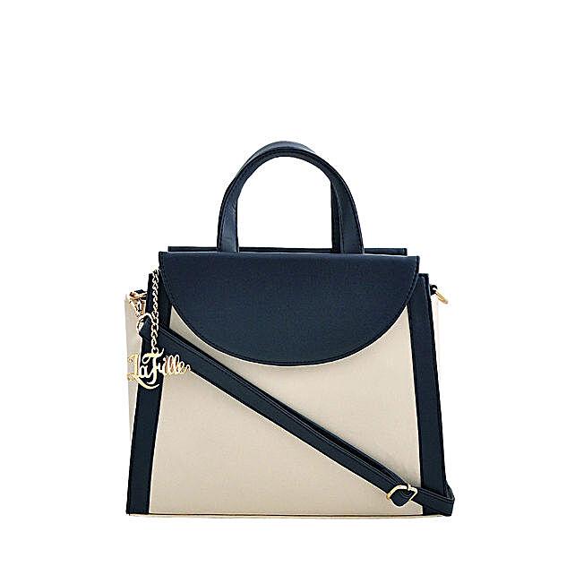 LaFille Elegant Blue Handbag: Buy Handbags