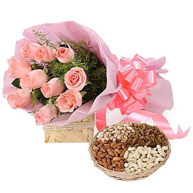 Lavishing Wishes: Premium Roses