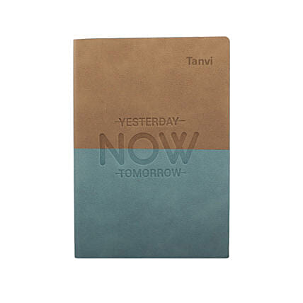 Live In The Moment Personalised Notebook: Personalised Stationary