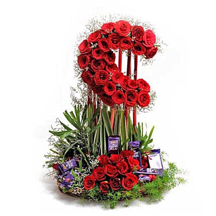 Loaded With Love: Flower Basket