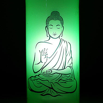 Lord Buddha Lamp: Bottle Lamps