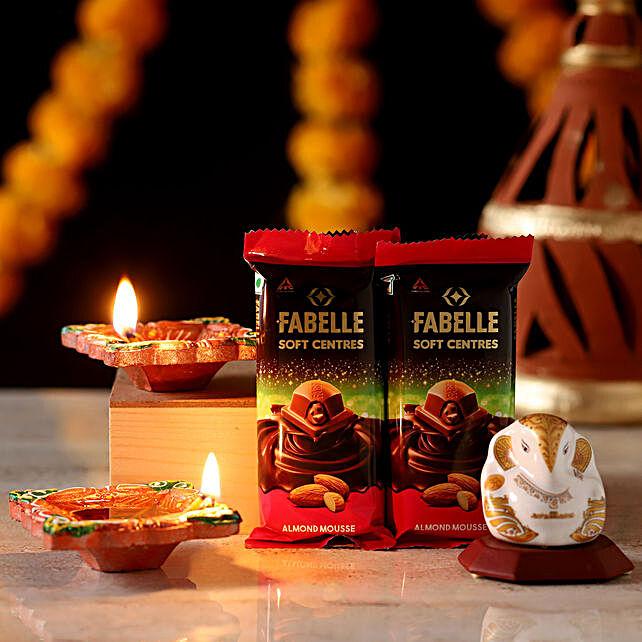 Lord Ganesha Idol Diwali Hamper: