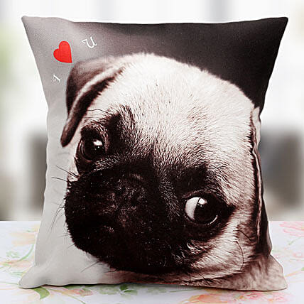 Loving the Pet Personalized Cushion: Retirement Gift