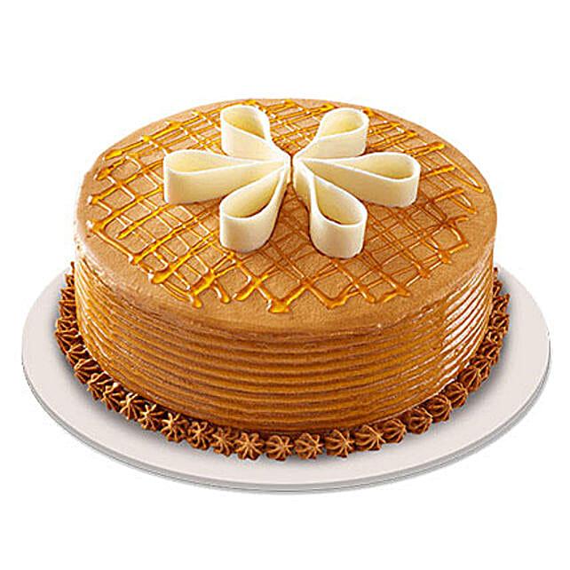 Lush Caramelt Cake: