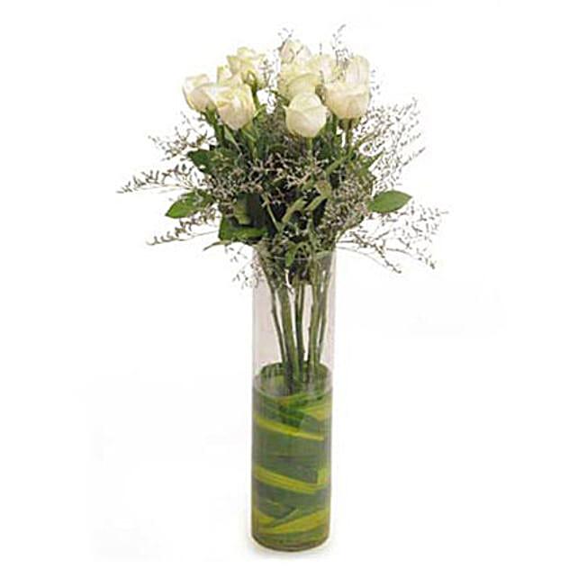 Magical Bliss: White Flowers
