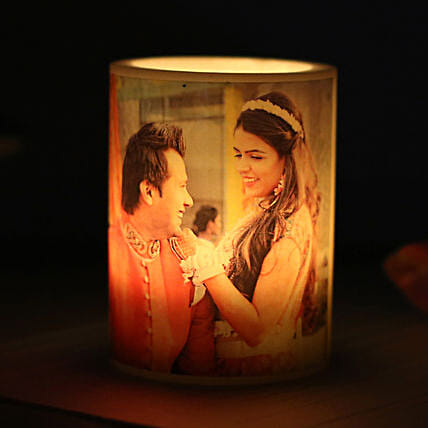 Me and You Personalized Candle: Send Valentine Personalised Gifts