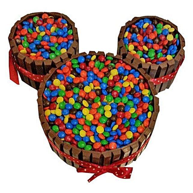 Mickey Mouse Kit Kat Cake: Send Designer Cakes