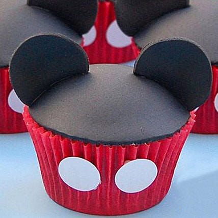 Mickey Mouse Mania Cupcakes: Send Cup Cakes