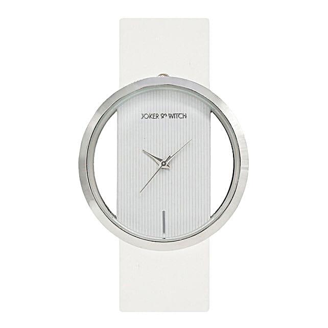 Minimal White Watch For Women: Watches