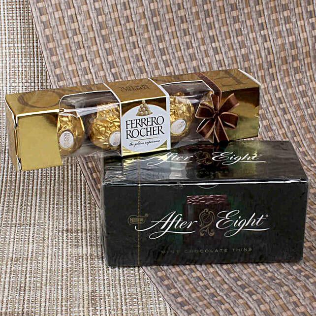 Mint Chocolate & Ferrero Rocher: Gifts to India