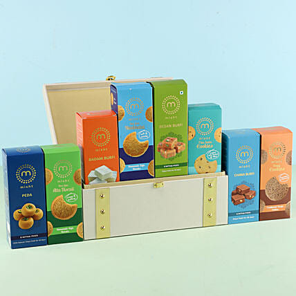 Misht Festive Sweets Gift Box: Send Gift Hampers