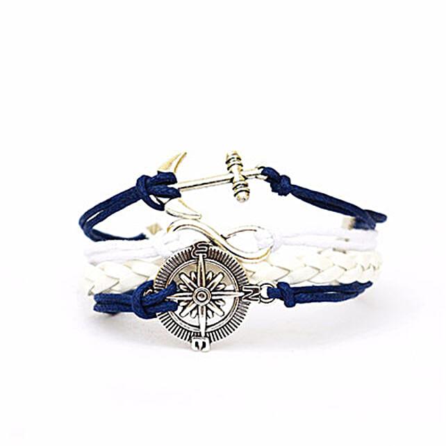Nautical Blue Bracelet: Friendship Day Bands