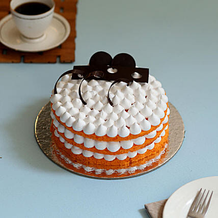 Orange Cream Cake: Cakes for Birthday