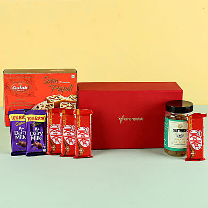 Paan Raisins & Soan Papdi Gift Hamper: Sweets & Dry Fruits for Eid