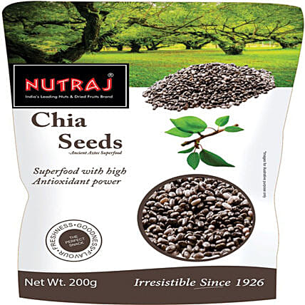 Pack Of Chia Seeds- 200 gms: Dry Fruits