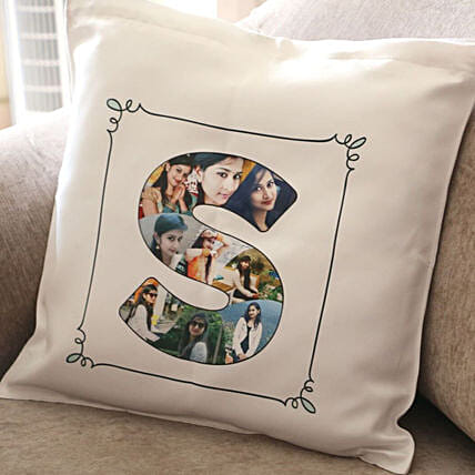 Personalised Alphabet Cushion Cover: Cushions