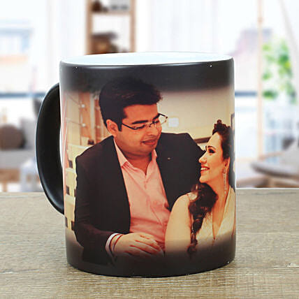 Personalised Black Magical Mug: Same Day Delivery Personalised Gifts