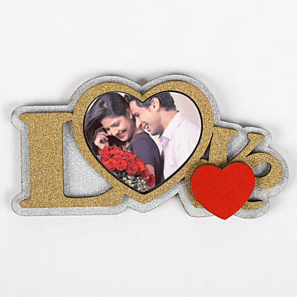 Personalised Love Fridge Magnet: Personalised Accessories