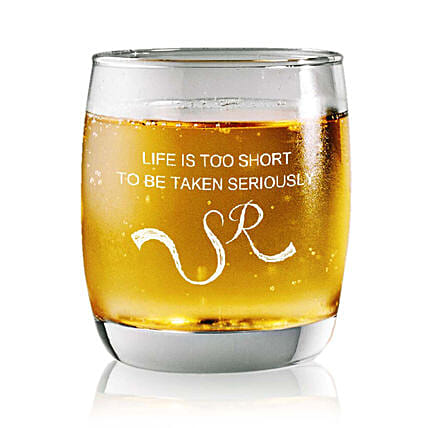 Personalised Set Of 2 Whiskey Glasses 2359: