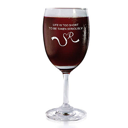 Personalised Set Of 2 Wine Glasses 2169: