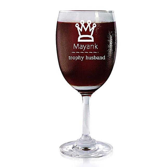 Personalised Set Of 2 Wine Glasses 2176: