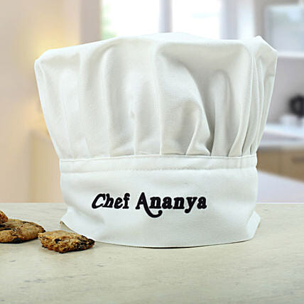 Personalized Chefs Hat: Send Gifts to Etawah